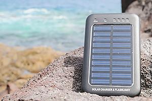 Ein sehr kleines Solarpanel für Unterwegs