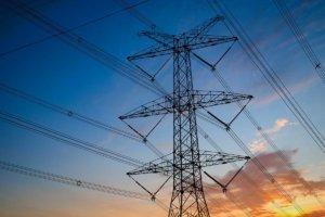 Strommast bei Stromausfall